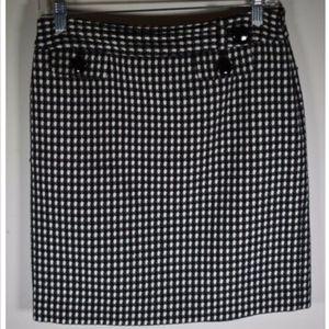 Ann Taylor women's skirt 6P 6 petites pencil lined
